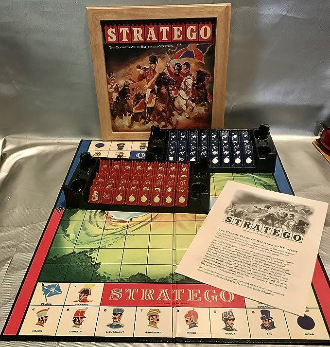 Amazon.es: Stratego Nostalgia by Hasbro (English Manual): Juguetes y juegos