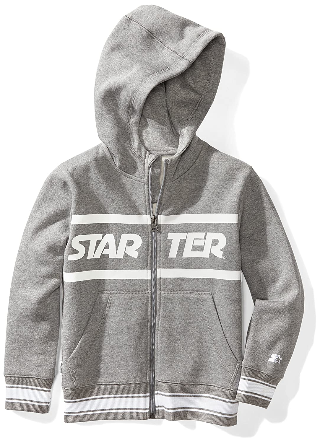 Starter Boys' Zip-Up Logo Hoodie, Amazon Exclusive S17FBT25