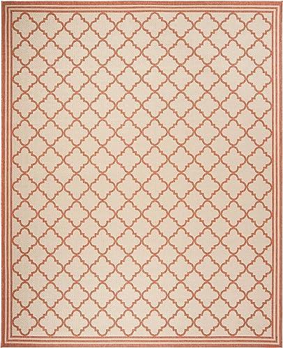 Safavieh Linden Collection Area Rug, 9 x 12 , Cream Rust