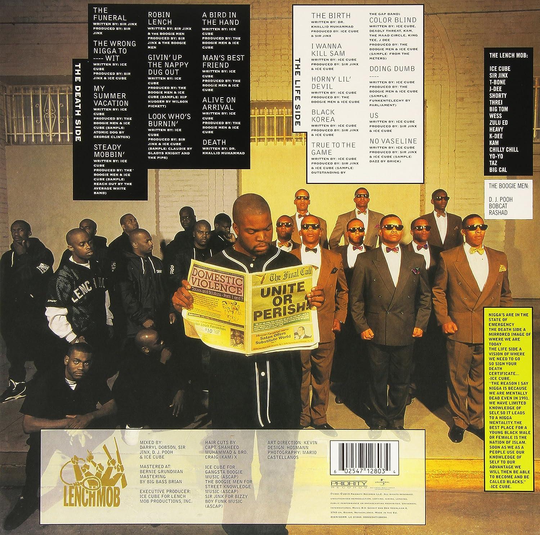 Ice Cube Death Certificate Lpexplicit Amazon Music