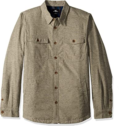 ONeill Mens Flannel Long Sleeve Woven Casual Button Down Shirt: Amazon.es: Ropa y accesorios