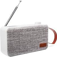 Sky Vision Dab Plus Radio 31W mit Bluetooth - Digital, Tragbar, FM/UKW, Weiß