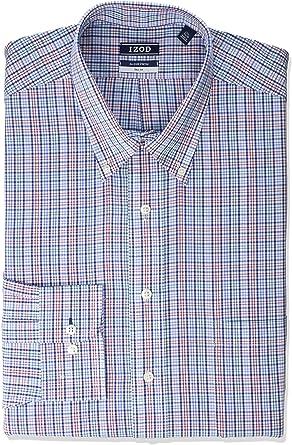 Amazon Com Izod Camisa De Vestir Para Hombre Tallas Grandes Y Altas Clothing