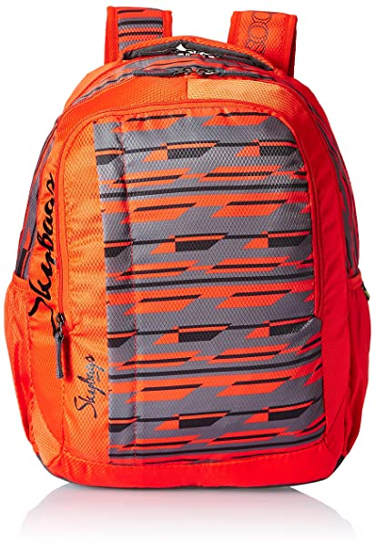 396d510bbf Skybags Polyester 30 Ltrs Orange Casual Backpack (BPHELFS4ONG)  Amazon.in   Bags