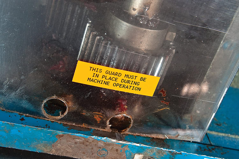 Brady HandiMark Tape  B 595 Indoor//Outdoor Vinyl Film YEL 1.0 X 50  1//Roll