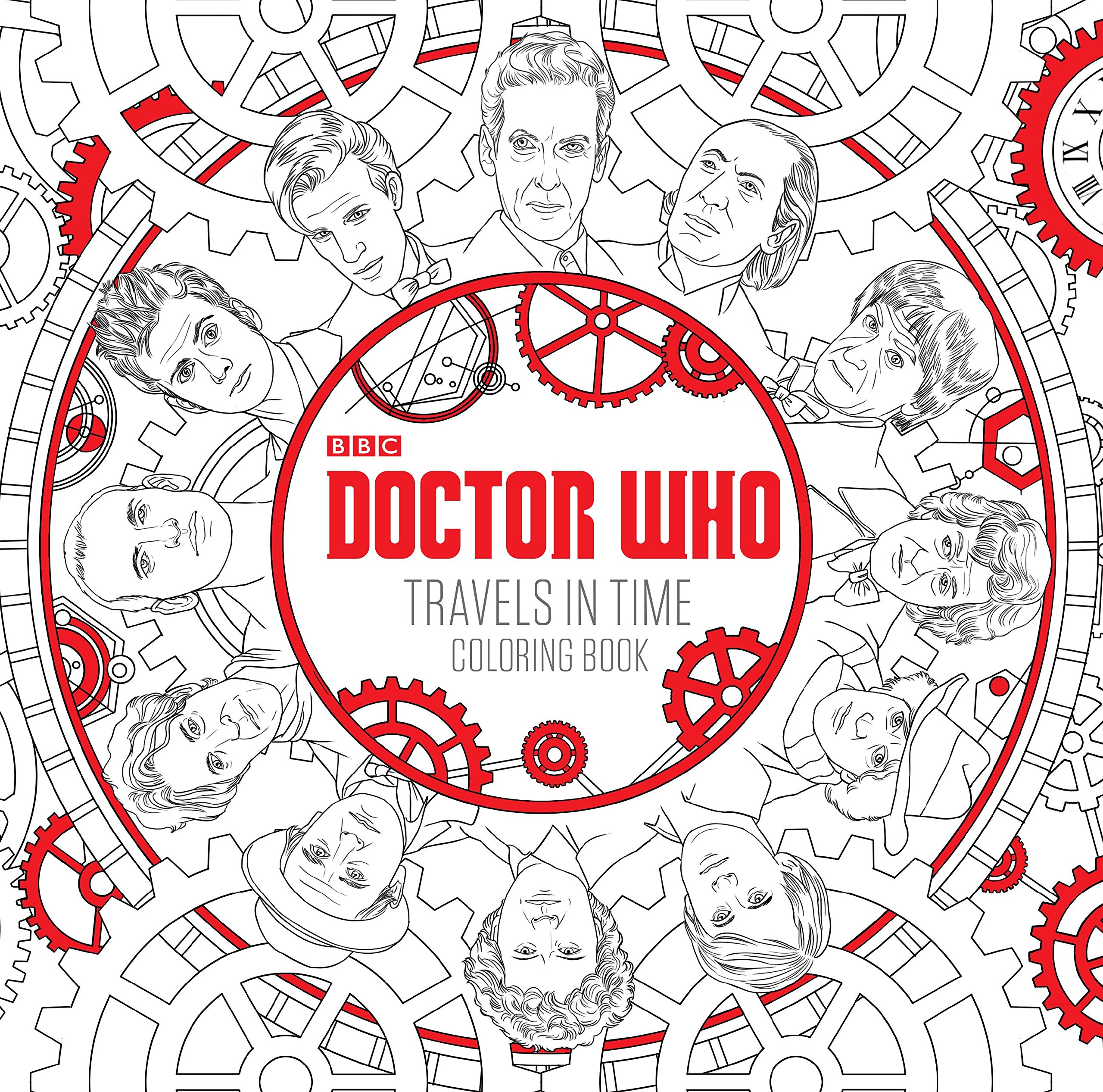 Doctor Who Travels in Time Coloring Book ebook