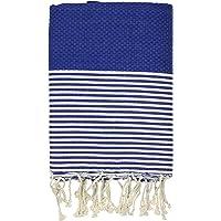 FFsense Fouta Turkish Towel - Bath & Beach Towels - 39x70