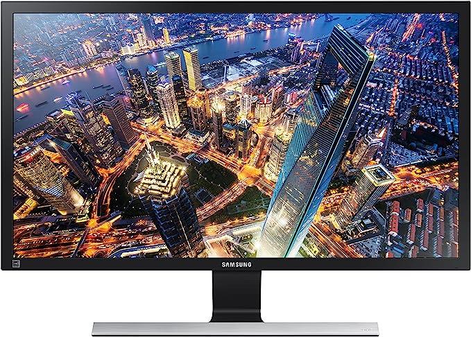 Amazon.com: Samsung 28-Inch UE570 UHD 4K Gaming Monitor (LU28E570DS/ZA) – 60Hz Refresh, Computer Monitor, 3840 x 2160p Resolution, 1ms Response, FreeSync, Split Screen, HDMI, Black: Computers & AccessoriesLive viewers eye icon