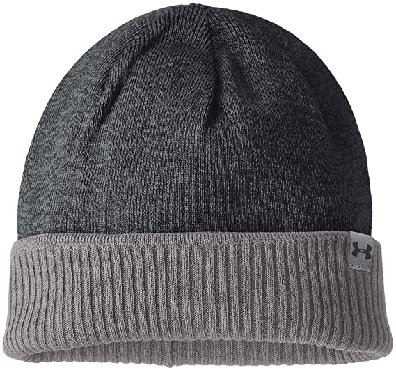 925bdf978d125c Under Armour 2017 ColdGear 4 in 1 Reversible 2.0 Beanie Mens Winter Golf Hat:  Amazon.co.uk: Sports & Outdoors
