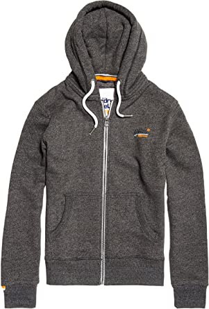 Superdry Men/'s Orange Label Cali Ziphood New With Tags Size 3XL Grey