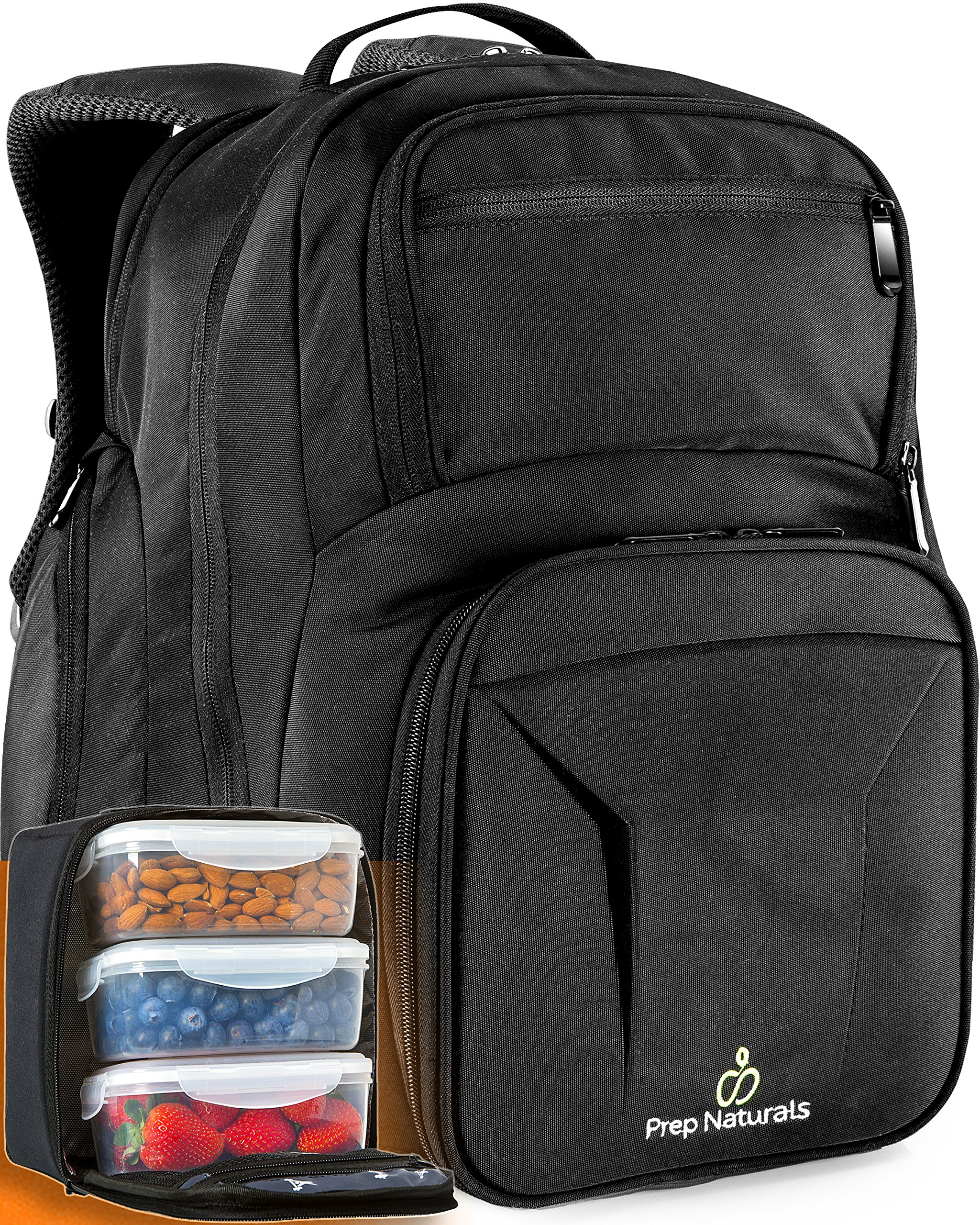 Meal Prep Backpack with Meal Prep Containers - Meal prep Bag Meal Prep Lunch Box - Meal Prep Backpack Lunch box Meal Prep Lunch bag Lunch bag with containers Insulated Lunch bag for men Lunchbox Tote