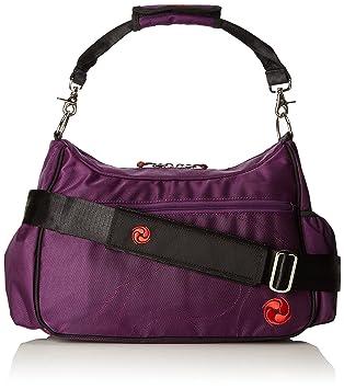 8fbcc4887e Live Well 360 Women s Accel Fitness Yoga Bag - Eggplant Purple ...