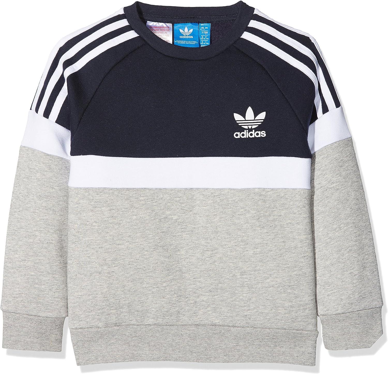 adidas BK6223 GarçonGrisFRTaille Sweat Shirt Fabricant 0w8OnPk