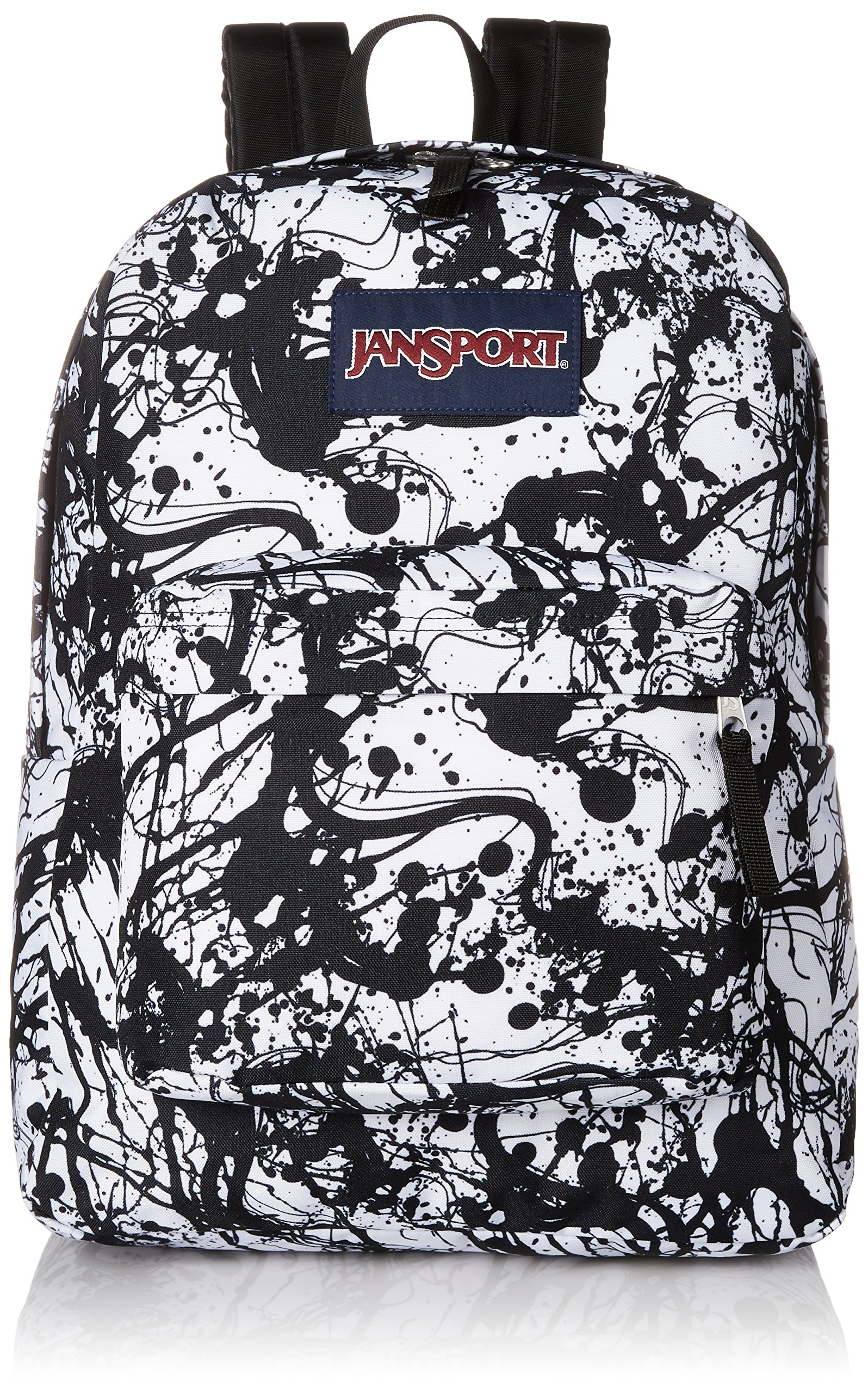 JanSport Unisex SuperBreak¿ Black Paintball One Size