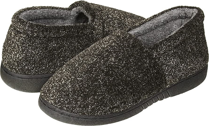 See Colors Sizes Skysole Kids Boys Marled Soft Terry A-Line Slip-ONS