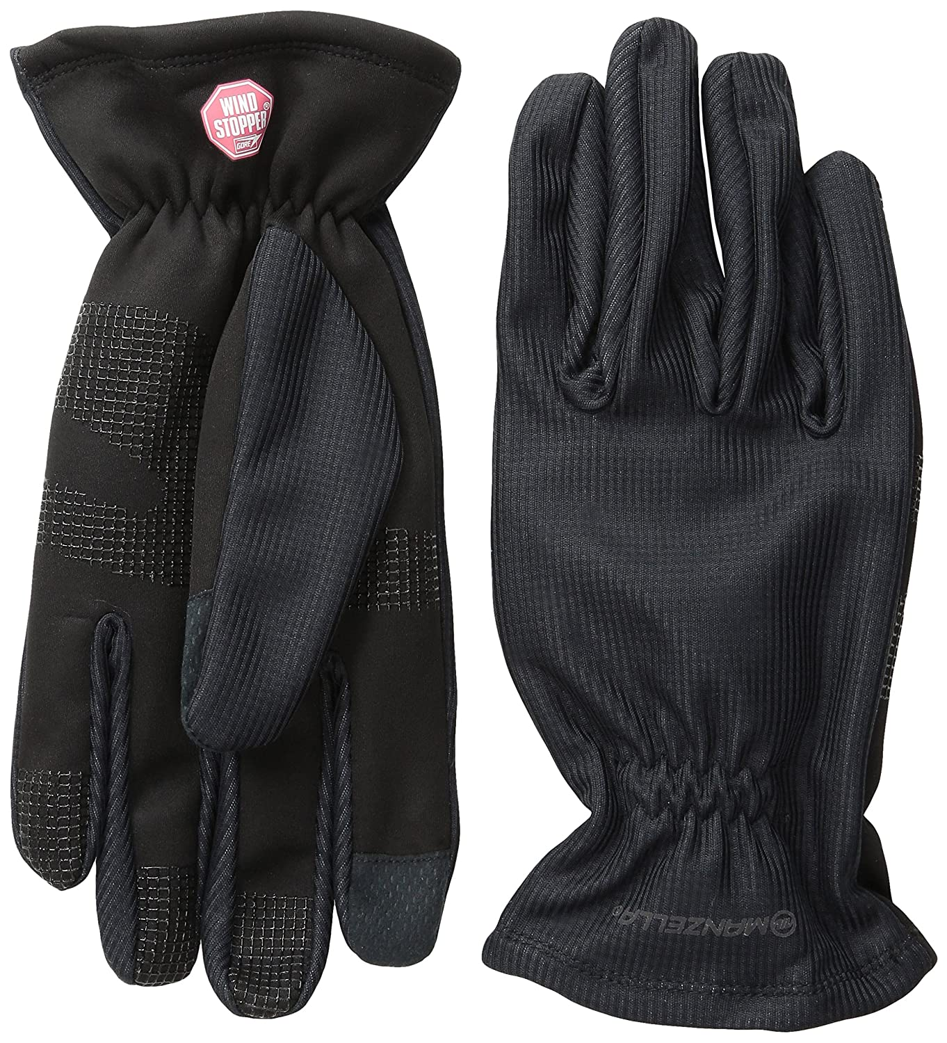 Manzella Men's Silkweight Windstopper Ultra Touch Gloves, Large, Black Manzella Productions Inc. O618M