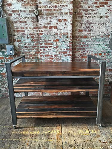 Amazon.com: Industrial Style Kitchen Storage Rack: Handmade