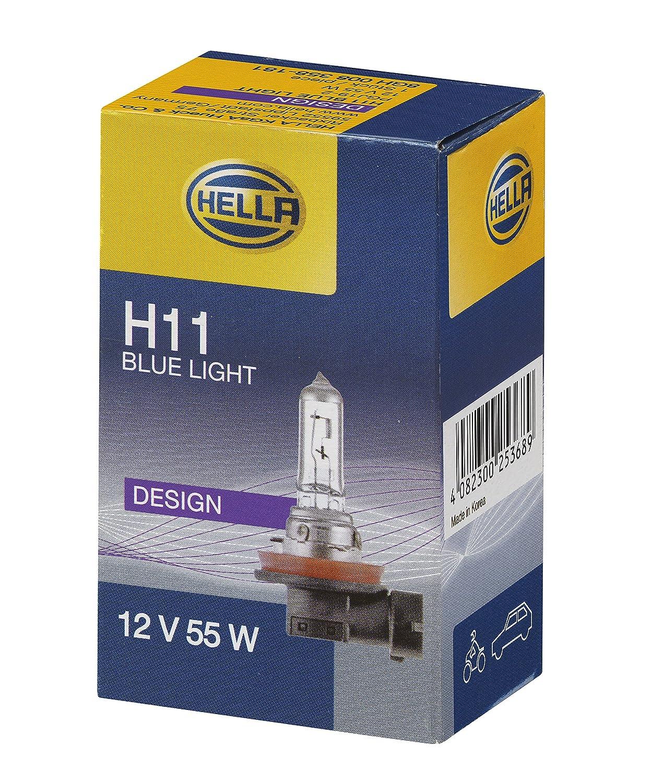 HELLA 8GH 008 358-121Glü hlampe, Standard Halogen Scheinwerferlampe, H11, 55 W, 12V Hella KGaA Hueck & Co.