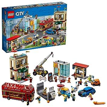 LEGO City - Gran Capital, Juguete Creativo de Construcción con Coche, Hotel, Autobús, Moto y Grúa para Niños y Niñas de 6 a 12 Años, Incluye ...