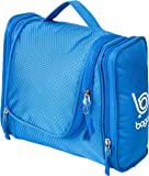 Bago Travel Toiletry Bags for man woman & kids – 100% SATISFACTION GUARANTEED. Hanging Toiletries Bag or for Home. Multi Pockets & High Quality Zippers. Perfect for Cosmetics Shaving & Personal Care (Blue)