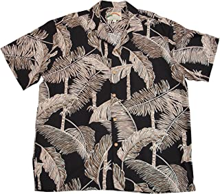 product image for Paradise Found Mens Tree Tops Shirt Black 6X