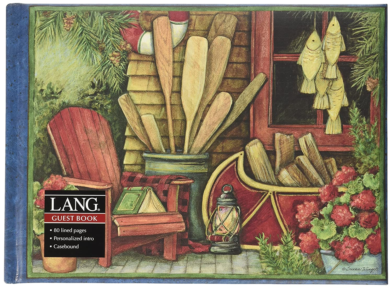 Lang Yarns Lodge de Living gran libro de Lodge invitados por Susan Winget, 9,2 x 6,8 pulgadas (1053024) 526ef1