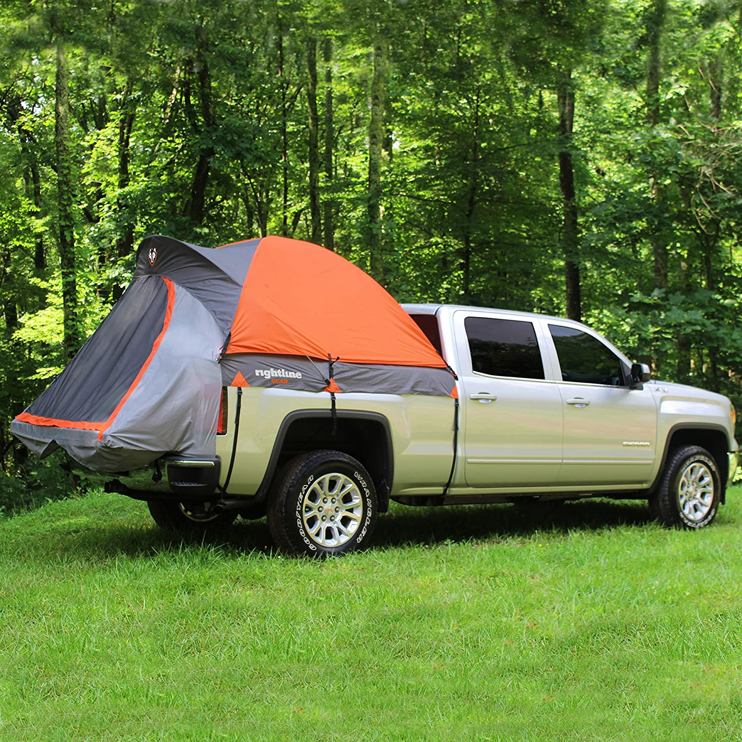 Amazon.com Rightline Gear 110765 Mid-Size Short Truck Bed Tent 5u0027 Automotive : rightline tent - memphite.com