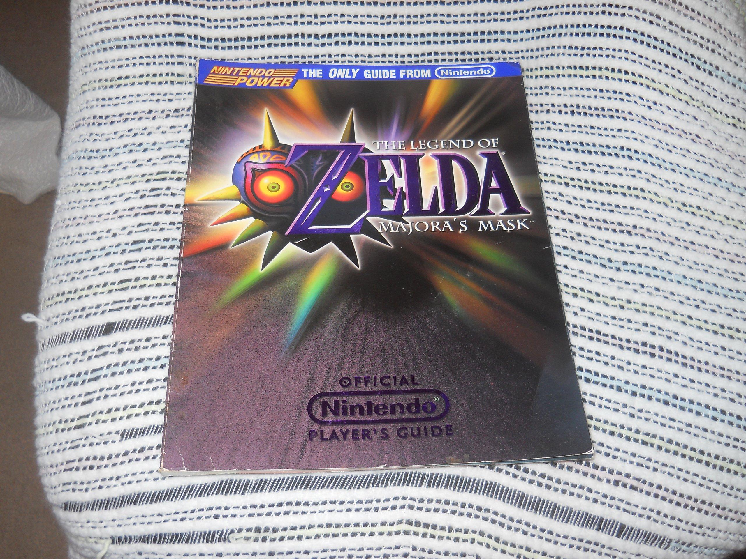 Official Nintendo Power The Legend Of Zelda  Majora's Mask Player's Guide