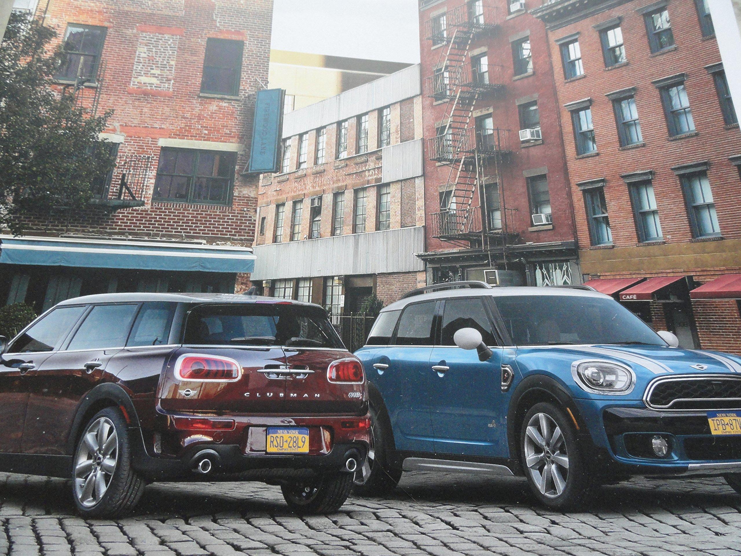 30 Page Sales Brochure 2017 Mini Cooper Cooper S Clubman
