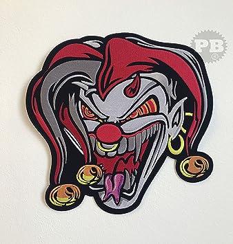 Jester Joker - Chaqueta de ciclista con calavera, tamaño ...