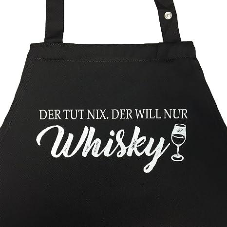 Delantal para los Aficionados a Whisky - , Parrilla schü ...