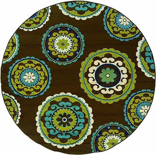 Oriental Weavers 859D6 Caspian Outdoor/Indoor Area Rug