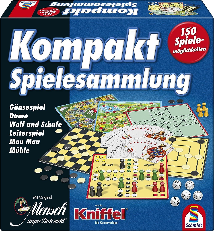 Schmidt Spiele 49188 compacta Juegos de Mesa: Amazon.es: Juguetes y juegos