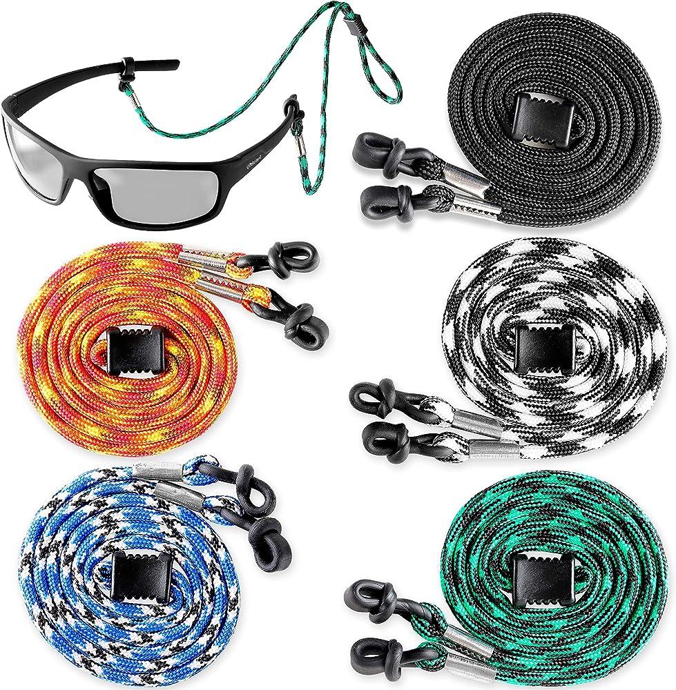 5x Eye Sun Glasses Retainer Cord Lanyard Eyewear Holder Goggles Neck String