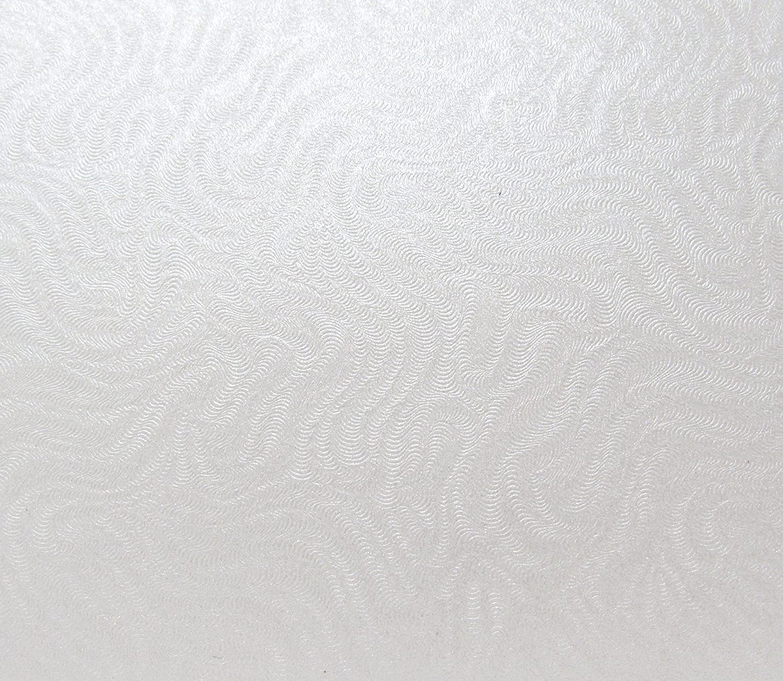 10x A4di gelo bianco perlato broccato goffrato design strutturato di qualità 290GSM Syntego