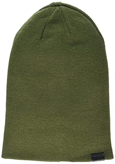 G-STAR RAW Herren Strickmütze Effo Long Beanie, Grün (Sage 724), One ... d69373d9a194