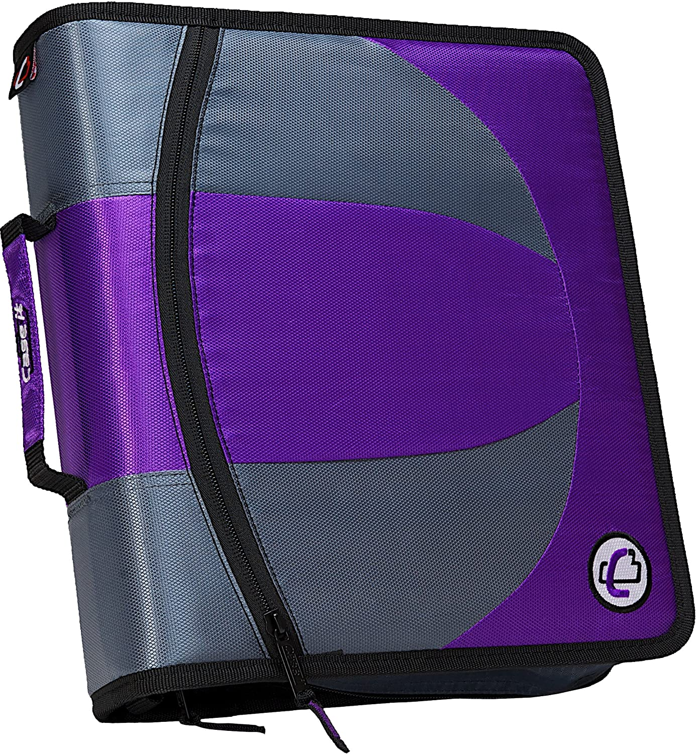 """Case It The Dual 2 In 1 Dual Ring Binder 3"""" Capacity"""