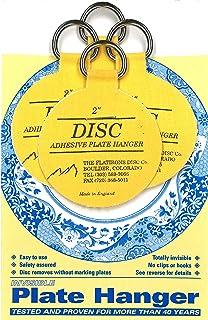 Amazon.com: Flatiron Disc Invisible Plate Hanger, 5.5-Inch: Home ...