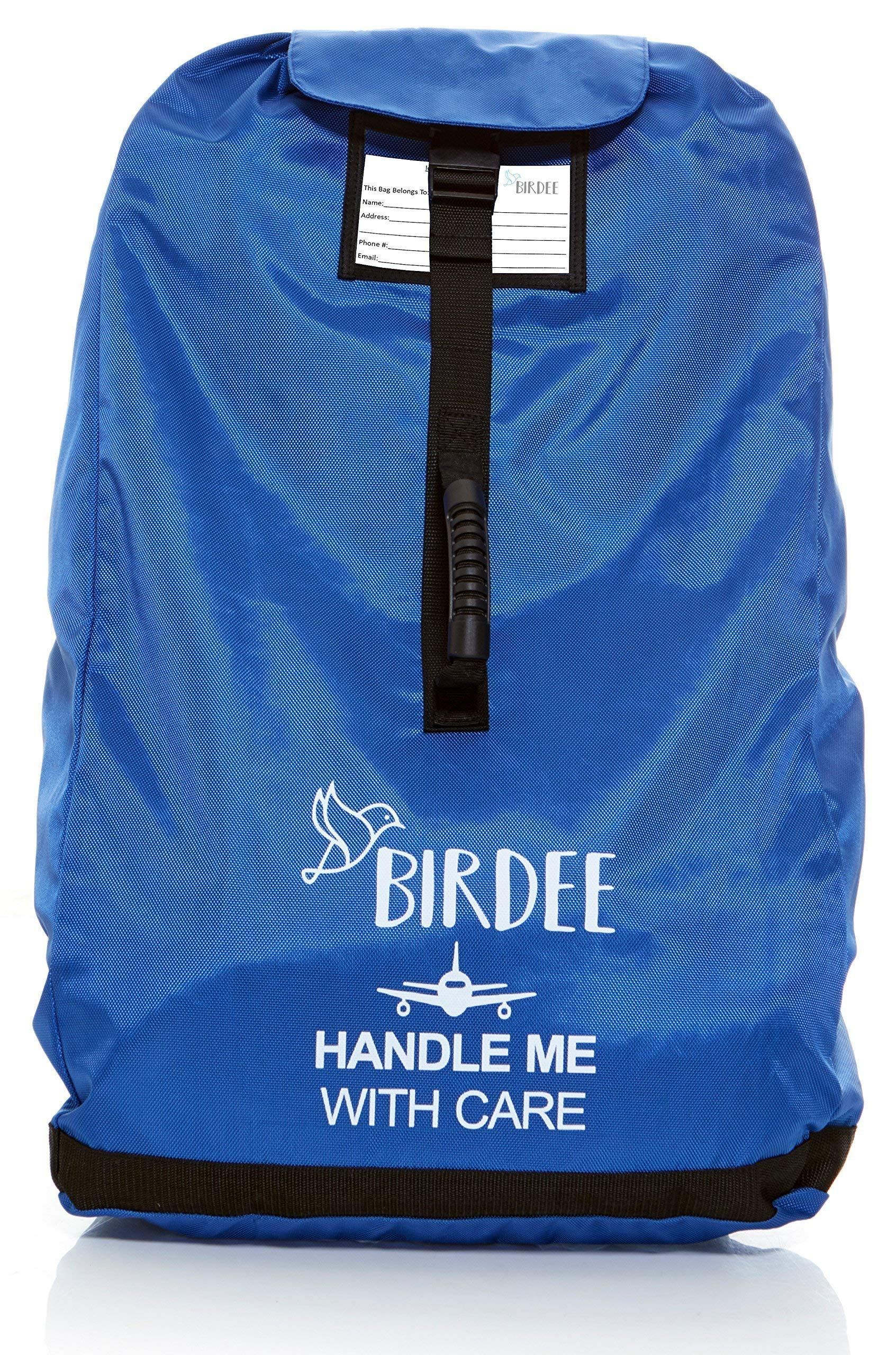 Birdee Car Seat Travel Bag for Airport Gate Check and Carrier for Travel