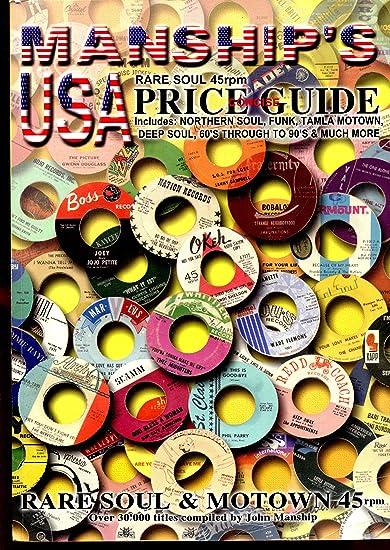 Manship's Rare Soul 45 Price Guide (Manship's Records Price Guides)
