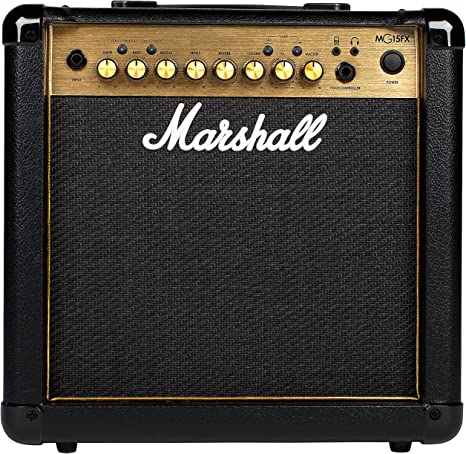 Marshall mg15gfx Amplificador de Guitarra Combo DORADO: Amazon.es ...
