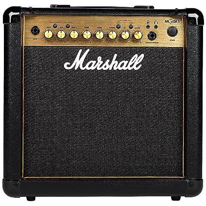 Marshall mg15gfx Amplificador de Guitarra Combo DORADO