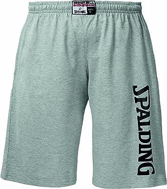 Spalding - Pantalones de Baloncesto, tamaño XXL, Color Gris ...