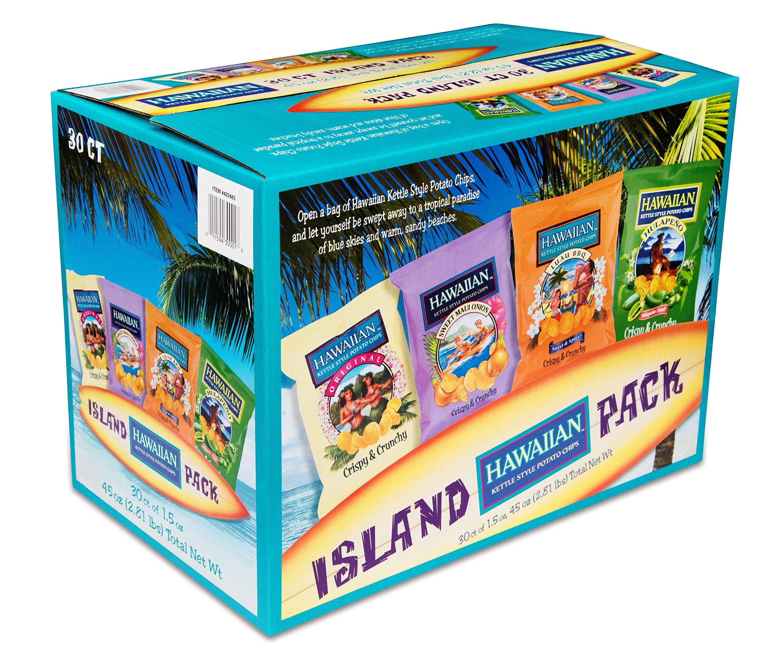 Amazon.com : Hawaiian Host Island Trio Gift Pack 36 Count ...