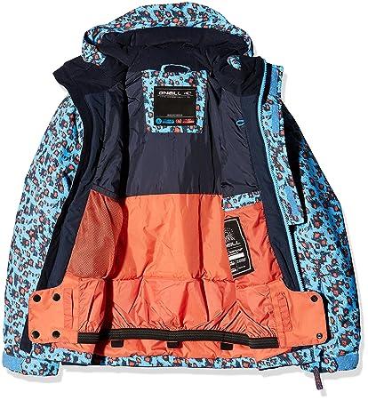 O Neill Gem - Cazadora de esquí para niña Blue AOP: Amazon.es: Deportes y aire libre