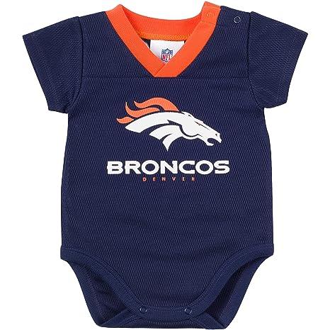 Image Unavailable. Image not available for. Color  NFL Denver Broncos  Unisex-Baby Dazzle Mesh V-Neck Bodysuit cfb7e7020
