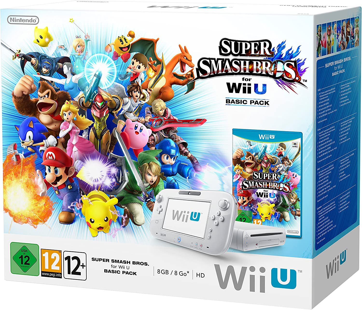 Nintendo Wii U 8GB Basic Pack with Super Smash Bros [Importación Inglesa]: Amazon.es: Videojuegos