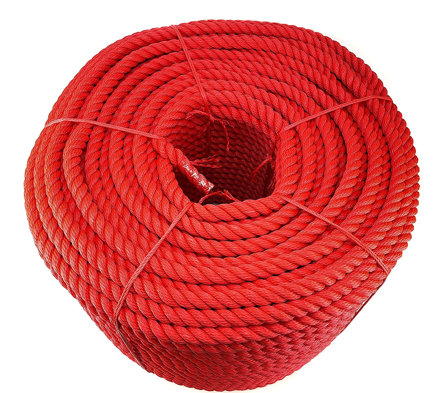 3 Strand Rope 14mm Red,Blue,Black Floating Multifilament Various Lengths