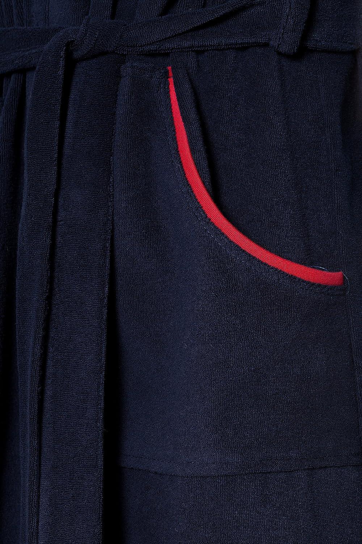 Vestaglia da Uomo con Cappuccio in Stile Sportivo RE-109