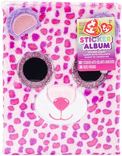 Image Unavailable. Image not available for. Color  Darice TY Beanie Boo  Glamour Sticker Album ... 33061fcf28d8